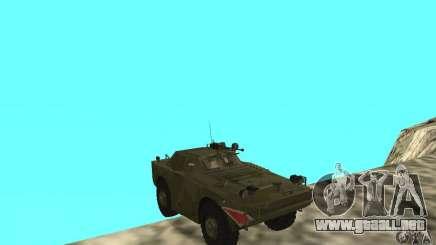BRDM-1 piel 4 para GTA San Andreas