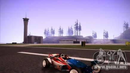 Track Mania Stadium Car para GTA San Andreas