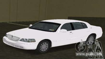 Lincoln Town Car para GTA Vice City