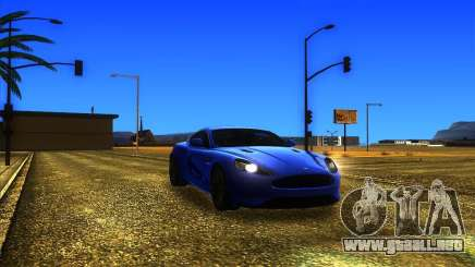 Aston Martin Virage 2011 Final para GTA San Andreas