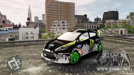 Ken Block Ford Fiesta 2011 para GTA 4