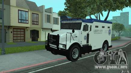Securicar de GTA IV para GTA San Andreas