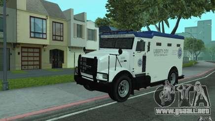 Securicar de GTA IV para GTA San Andreas