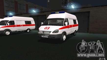 Ambulancia gacela 22172 para GTA San Andreas