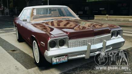 Dodge Monaco 1974 v1.0 para GTA 4