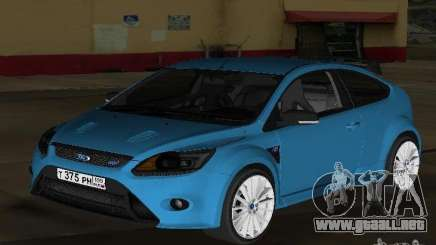 Ford Focus RS 2009 para GTA Vice City