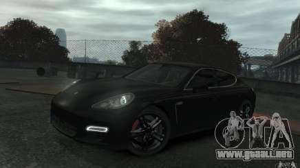 Porsche Panamera Turbo para GTA 4