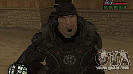 Marcus Fenix de Gears of War 2 para GTA San Andreas