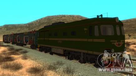 New Graffity Train para GTA San Andreas