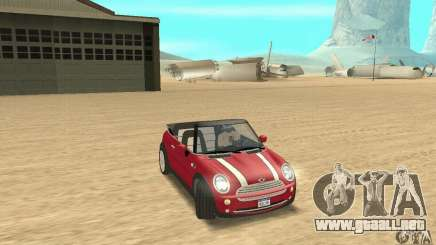 Mini Cooper Convertible para GTA San Andreas