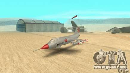F-104 Starfighter Super (gris) para GTA San Andreas