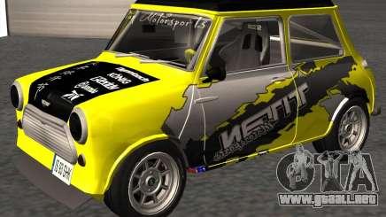 Mini Cooper S Titan Motorsports para GTA San Andreas