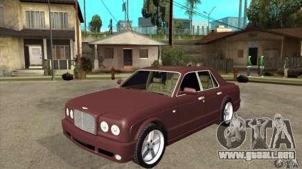Bentley Arnage GT para GTA San Andreas