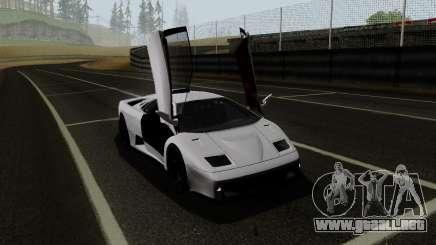Lamborghini Diablo GTR TT Black Revel para GTA San Andreas