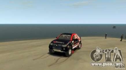 Mitsubishi L200 Rally para GTA 4