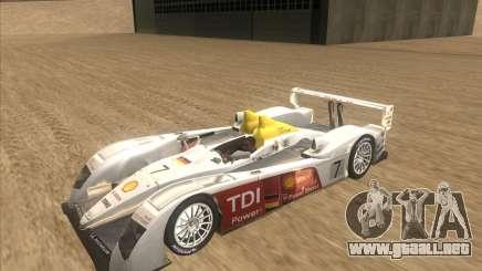 Audi R10 TDI para GTA San Andreas