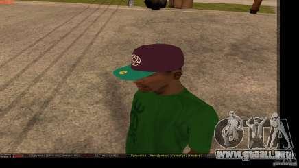 Gorra de béisbol con el logo de la banda HIM para GTA San Andreas
