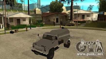 Camión de combustible Gaz-52 para GTA San Andreas