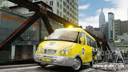 Gacela 2705 Taxi v 2.0 para GTA 4