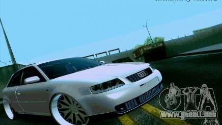 Audi A3 DUB Edition para GTA San Andreas