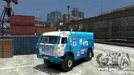 KAMAZ 4911 Rally MASTER para GTA 4