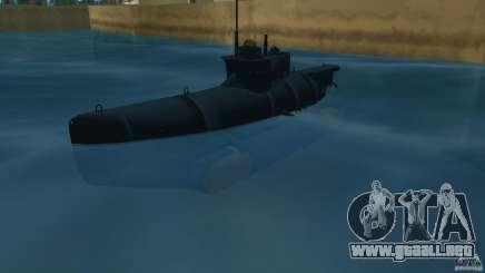 Seehund Midget Submarine skin 2 para GTA Vice City