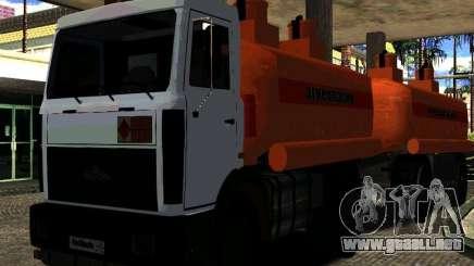 MAZ 533702 camión para GTA San Andreas