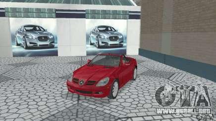 Mercedes-Benz SLK 350 para GTA San Andreas