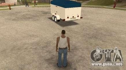 Remolque para Ford Transit 2007 para GTA San Andreas