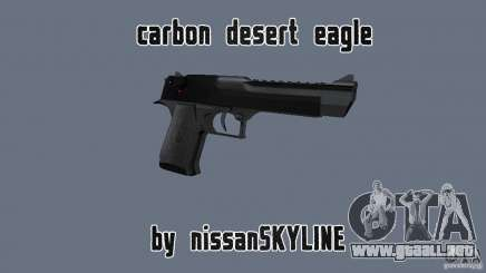 Carbon Desert Eagle para GTA San Andreas
