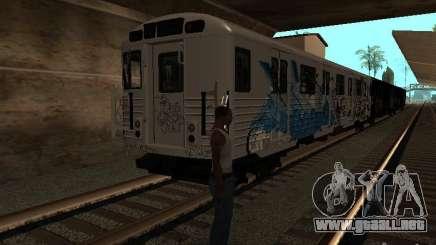 El tren de GTA IV para GTA San Andreas