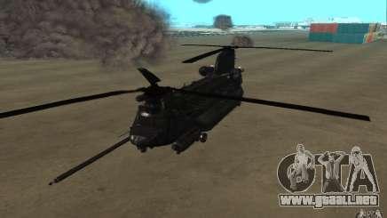 MH-47G Chinook para GTA San Andreas
