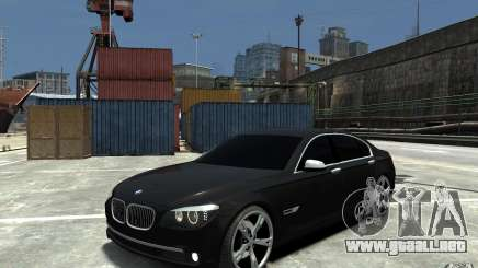 BMW 750 LI F01 v1.3 para GTA 4