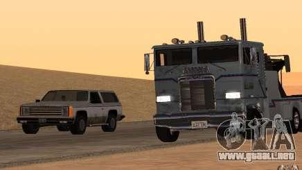 Kenworth K100 Towtruck para GTA San Andreas