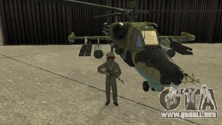 Ka-50 Black Shark para GTA San Andreas