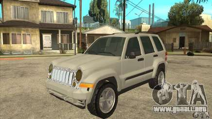 Jeep Liberty 2007 Final para GTA San Andreas