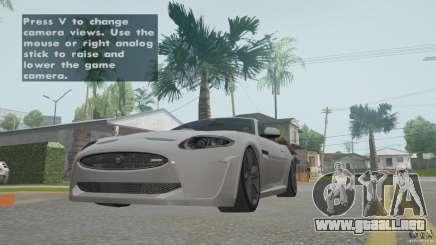 Jaguar XKR-S para GTA San Andreas