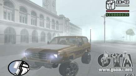 Toyota Land Cruiser 70 para GTA San Andreas