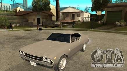 1969 Chevrolet Chevelle para GTA San Andreas
