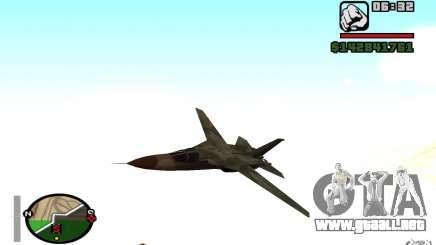 F-111 Aardvark para GTA San Andreas