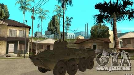 Vehículos blindados de COD MW2 para GTA San Andreas