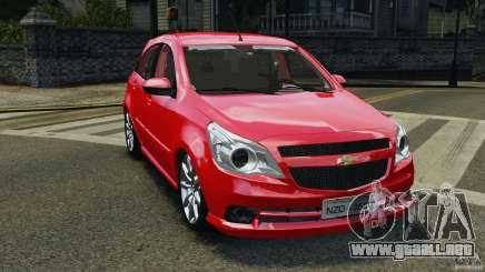 Chevrolet Agile para GTA 4