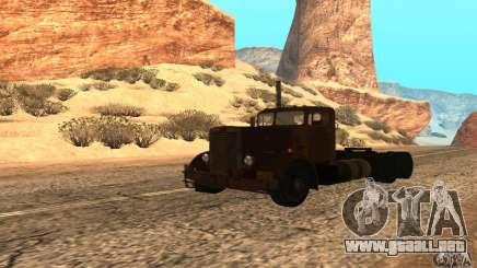 Duel Peterbilt para GTA San Andreas