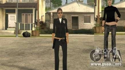 Piel de la muchacha DD para GTA San Andreas