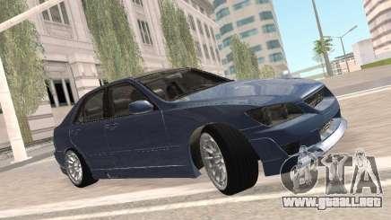 Lexus IS300 HellaFlush para GTA San Andreas