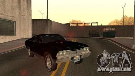 Chevrolet Chevelle 1968 para GTA San Andreas