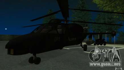 KA-52 ALLIGATOR v1.0 para GTA San Andreas