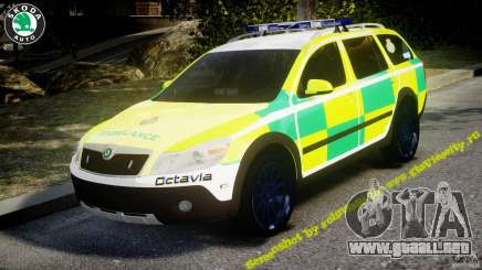 Skoda Octavia Scout Paramedic [ELS] para GTA 4