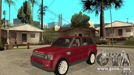 Land Rover Range Rover Sport HSE para GTA San Andreas