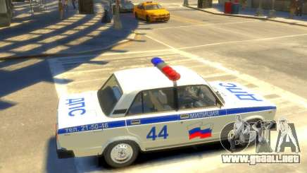 Policía Vaz 2105 para GTA 4
